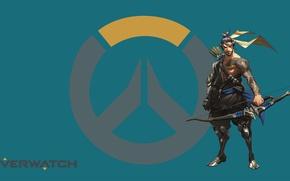 Картинка Blizzard, Wallpaper, Game, Hanzo, Overwatch