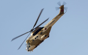 Картинка вертолёт, средний, транспортный, Puma, SA-330