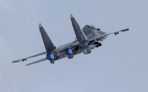 Обои армия, самолёт, Su-30SM, оружие