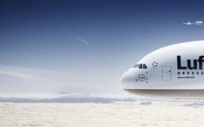 Картинка авиация, самолет, боинг, А 380