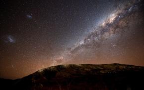Обои звезды, Млечный путь, stars, галактики, Milky Way galaxy, Ночное небо