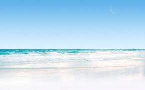 Обои море, волна, песок