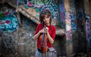 Картинка скрипка, красавица, violin, Линдси Стирлинг, Lindsey Stirling, скрипачка