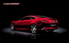 Картинка Concept, Mazda, красная, Shinari