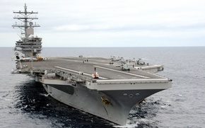 Картинка Aircraft Carrier, USS Ronald Reagan, MH-60S Sea Hawk helicopter