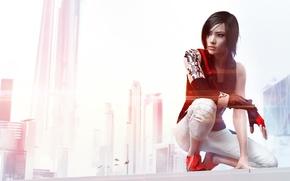 Обои Catalyst, Mirrors Edge: Catalyst, Фейт, Electronic Arts, EA DICE, DICE, Mirror's Edge: Catalyst, Faith, Девушка