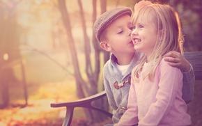 Картинка мальчик, девочка, Friendship