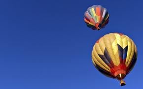 Обои шары, небо, спорт