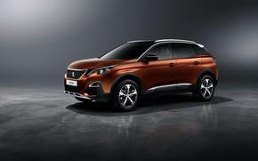 Обои фон, Peugeot, пежо, кроссовер, 3008