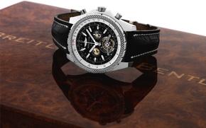 Картинка Часы, Breitling, PLATINUM MULLINER CHRONOGR, BREITLING FOR BENTLEY, APH WITH TOURBILLON