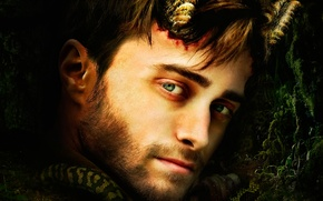 Картинка портрет, Рога, Daniel Radcliffe, Horns