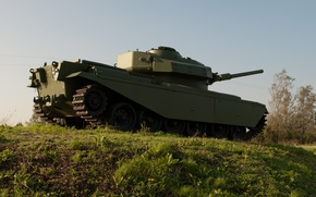 Картинка армия, горка, танк, бронетехника