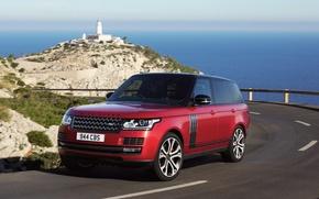 Обои Land Rover, car, авто, SVAutobiography, дорога, road, Range Rover