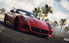 Картинка Ferrari, Need for Speed, 599, nfs, GTO, 2013, Rivals, NFSR