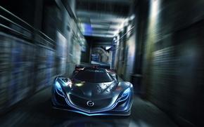 Картинка Concept, Мазда, Mazda, Car, Speed, Front, Furai, Фураи