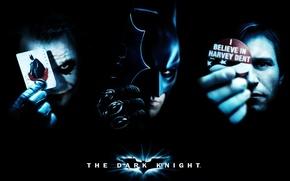 Обои Бэтман, Джокер, The Dark Knight