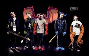 Картинка music, guitar, rock, electric, gibson, strings, A Day to Remember