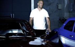 Обои Vin Diesel, The Fast and the Furious 6, Форсаж 6, Dominic Toretto, Вин Дизель
