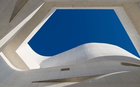 Картинка небо, здание, Бразилия, Порту-Алегри, Рио-Гранди-ду-Сул