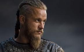Картинка воин, борода, викинги, vikings, travis fimmel, ragnar, рагнар
