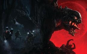 Картинка Монстр, Голиаф, 2K Games, Evolve, Goliath, Turtle RockStudios