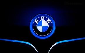 Обои значок, бмв, капот, BMW, front, шильдик