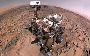 Картинка марсоход, Марс, Кьюриосити, Curiosity