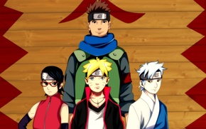 Картинка fire, girl, Naruto, boy, ninja, shinobi, scarf, sensei, sunglasses, powerful, hitaiate, strong, sugoi, subarashii, logo …