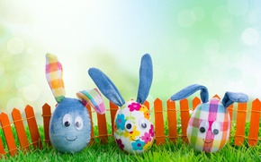 Картинка трава, яйца, весна, пасха, Easter