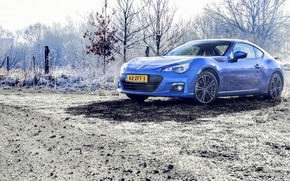 Картинка Subaru, Blue, BRZ, Photoshoot