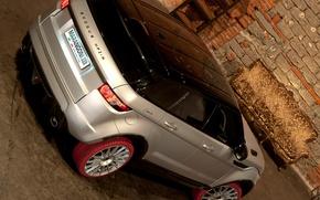 Картинка обои, внедорожник, Land Rover, Range Rover, вид сзади, Marangoni, HFI-R