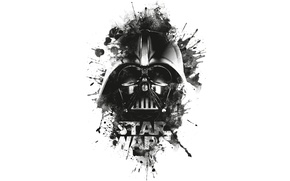 Картинка Darth Vader, logo, black, Star wars