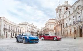 Картинка car, Ferrari, V12, California T