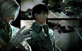 Картинка аниме, anime, Tokyo Ghoul, Токийский Гуль, Kureo Mado, Koutarou Amon