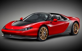 Картинка Concept, фон, концепт, Ferrari, суперкар, феррари, Sergio, серджио