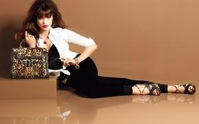 Картинка Model, Style, Fashion, Glamour, Sandra Hellberg, Makeup, Brands, Accessories, Trends