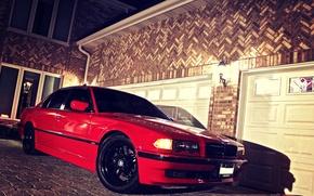 Картинка Red, БМВ, Красный, Bimmer, E38, Бумер, 750il, BMW