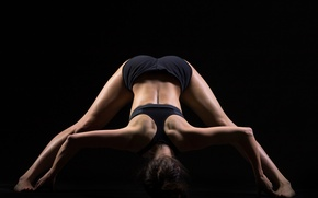 Картинка pose, back, yoga, stretching