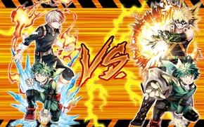 Картинка explosion, fire, flame, gun, ice, weapon, anime, power, boy, hero, asian, manga, japanese, oriental, asiatic, …