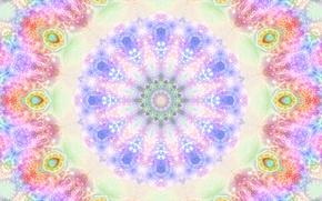 Картинка цвета, абстракция, фон, узор, краски, графика, блеск, цвет, круг, свечение, текстура, блестки, сфера, фигуры