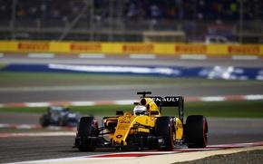 Картинка Renault, Formula 1, Team, Передок, Kevin Magnussen