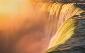 Картинка вода, стихия, водопад, поток