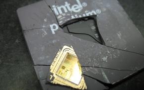 Обои Intel, центральный процессор, CPU