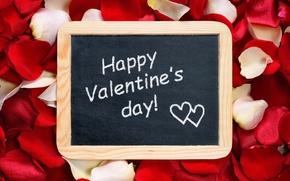 Картинка розы, лепестки, love, heart, romantic, Valentine's Day