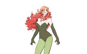 Картинка Girl, comics, redhead, dc universe, poison ivy