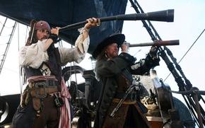 Обои пираты карибского моря, капитаны, Pirates of the Caribbean