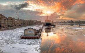 Картинка зима, мороз, Санкт-Петербург