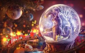 Картинка art, rendering, Gleb Alexandrov, christmas final