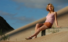 Картинка Sunset, Kira, Beauty, Russian Girl