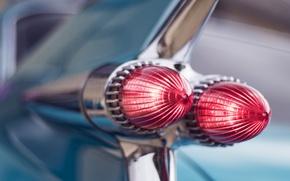 Картинка ретро, фары, Cadillac, 1959, Sedan de Ville
